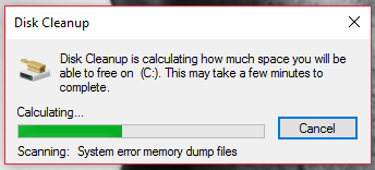 freeup disk space