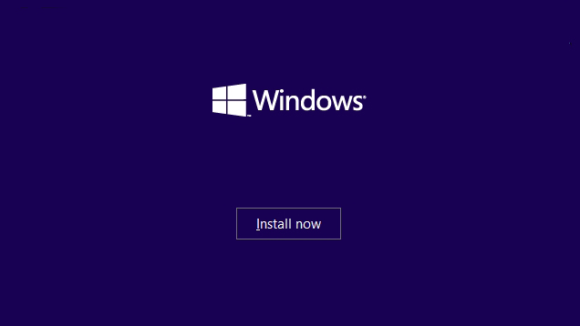 start a clean install in windows 10