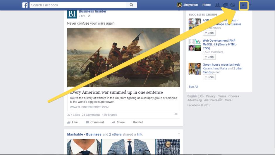 editing facebook ad option