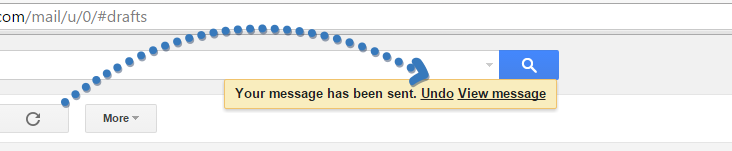 undo email in gmail