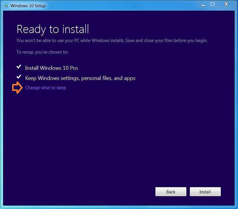 how to install windows 10 from 7