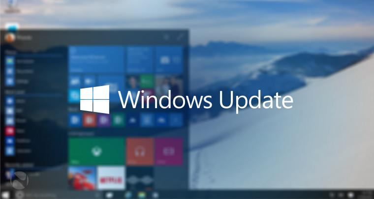 Windows update in Windows 10