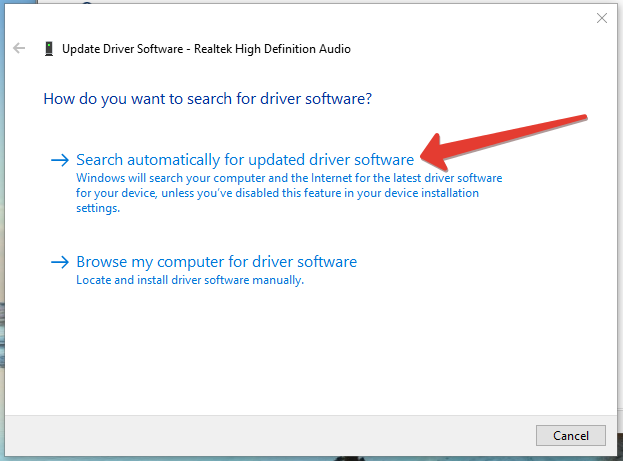 how to update driver in windows 10