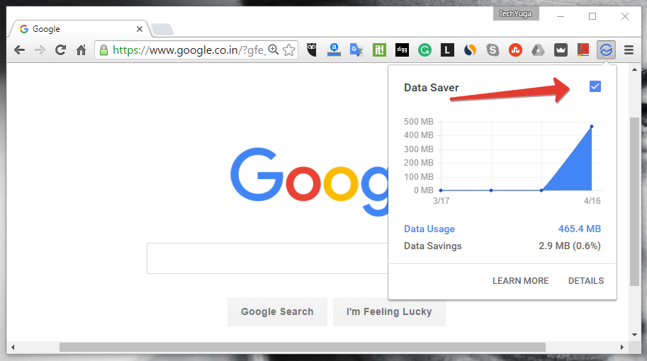 data saver for chrome