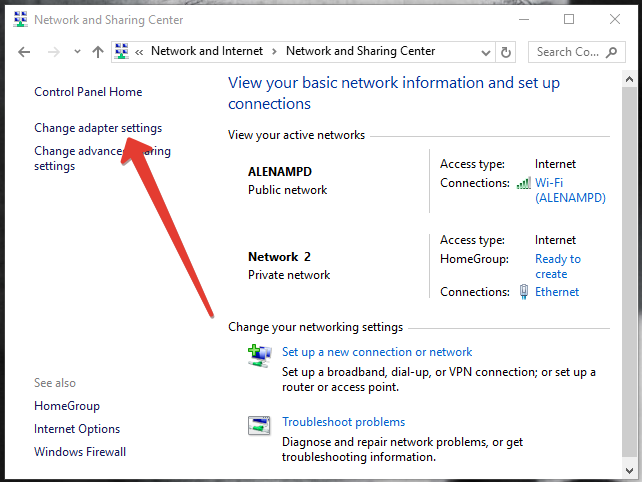 find your ip address in windows 10