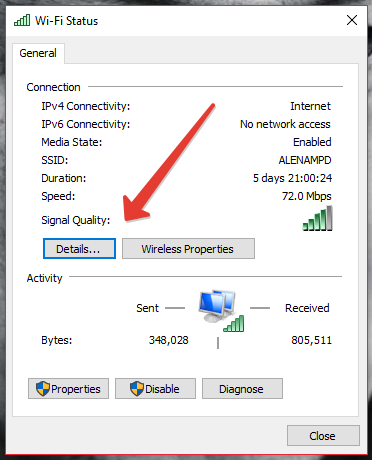 network adapter in windows 10