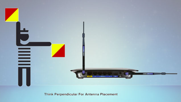 Reposition the antennas