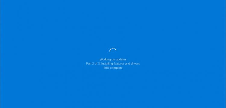Windows 10 Stuck While Updating Windows Updates