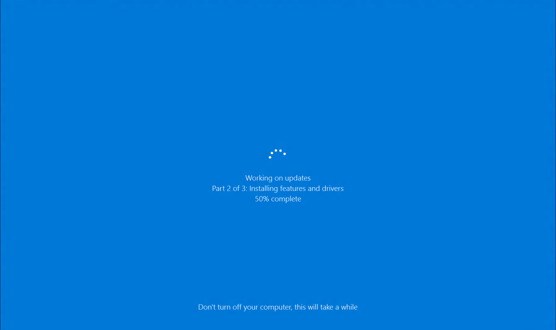 Windows 10 Stuck While Updating Windows Updates