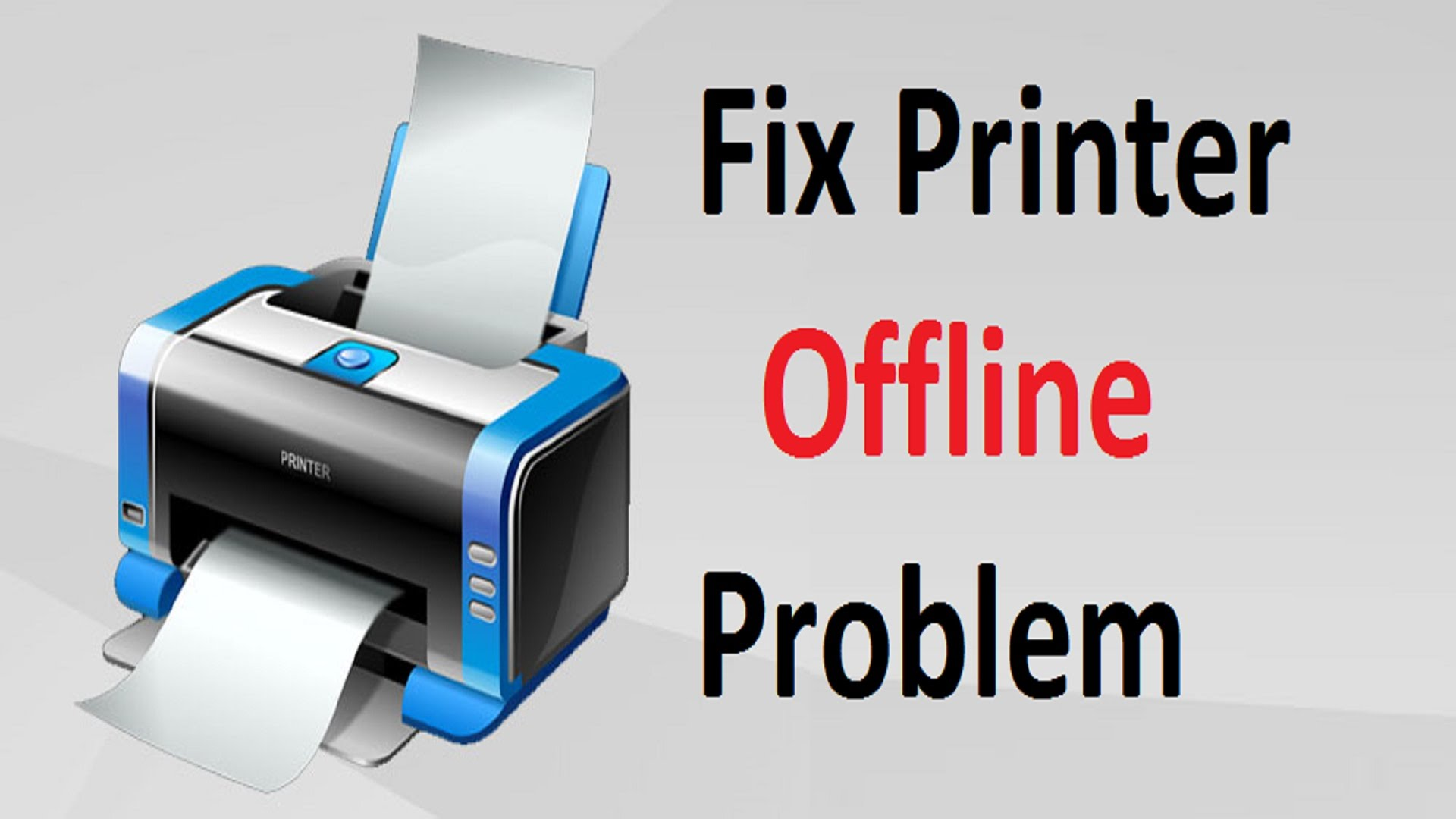 printer offline error