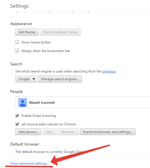 Adobe flash player plugin in Chrome