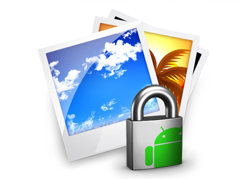 Hide Image files In Android