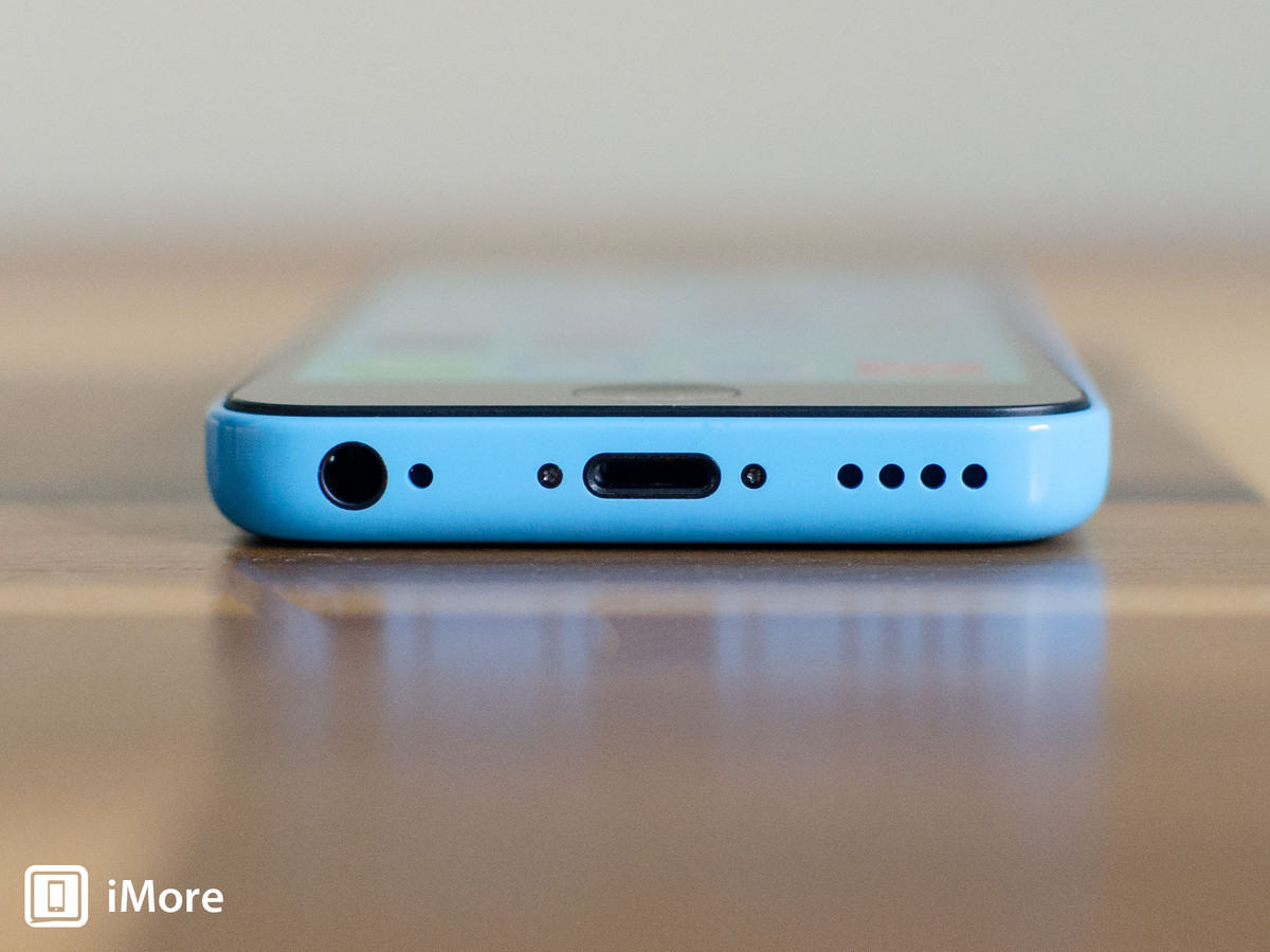 Removing security screws in iPhone 5C