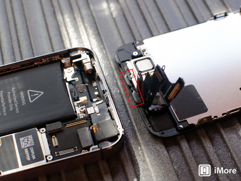 Reassembling iPhone 5s