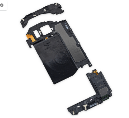 Samsung Galaxy S7 tear down components