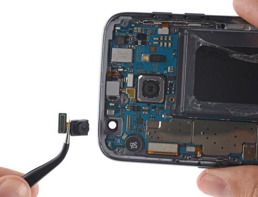 Samsung Galaxy S7 front camera tear down