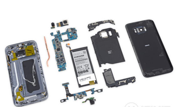 Samsung Galaxy S7 tear down