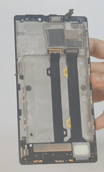 removing the motherboard completely from the phone