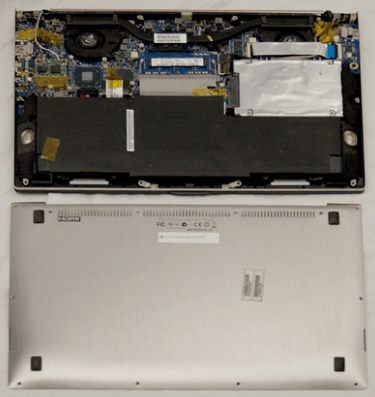 asus laptop bottom panel