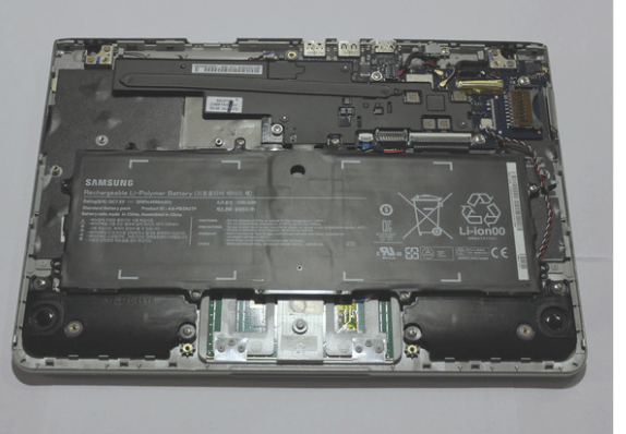 removing bottom cover in samsung laptop