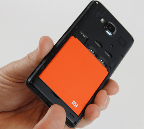 removing the battery xiaomi