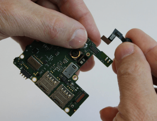 pulling out the light sensor xiaomi