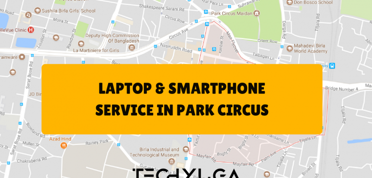 Laptop Service Center in Park Circus