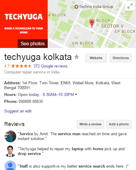 Laptop service center bhowanipore
