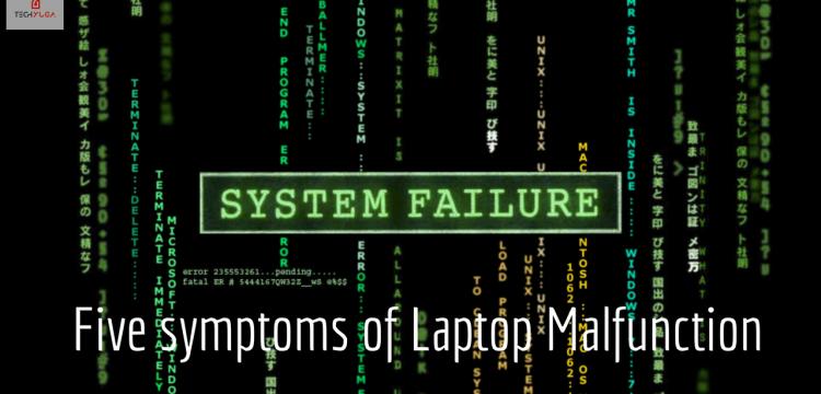 Laptop Malfunction