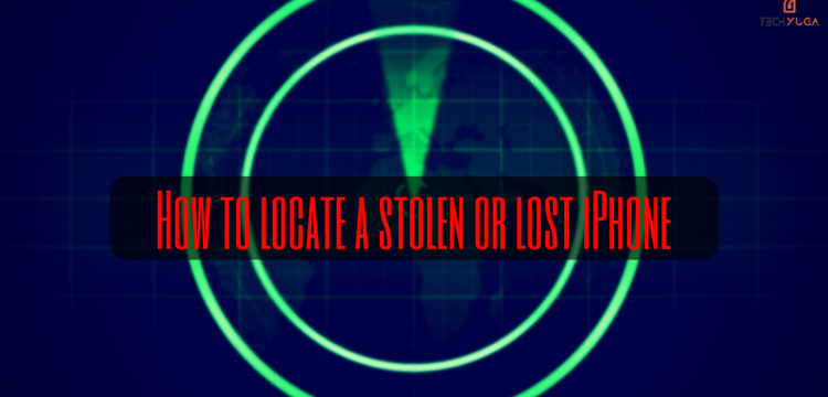 locate stolen or lost iPhone